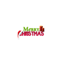 Merry Christmas Texto PNG by FranCyrus1992