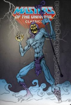 Skeletor Masters of the universe MOTUC by victorgrafico