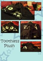 Toothless Plush by Arkeresia