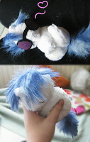 comission- Vinyl Scratch plush by zukori