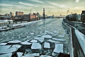 Moscow-river by Furaudo
