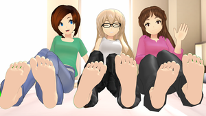 Sister's Sole Show (Barefoot Version) by tehfogo
