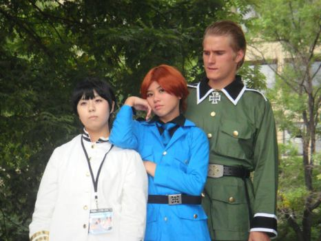 Axis Cosplayers Hetalia by cartoonchick123