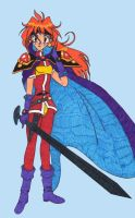 Lina with the Sword of Light by Haveba25