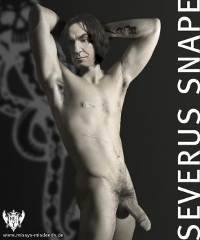 Sexy naked Hotwizard, Mr. Snape by Mrs-Severus-Snape