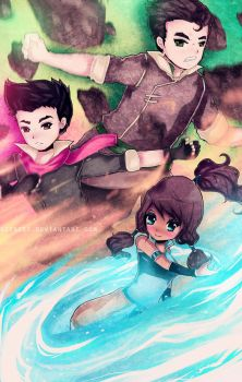 Legend of Korra by DarienDoodles