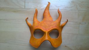 Leather Fire Mask by A-S-Thompson