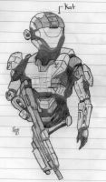 Halo:Reach-Kat by Izaak94