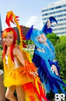 Titans of Fire and Ice by Double-A-Cosplay