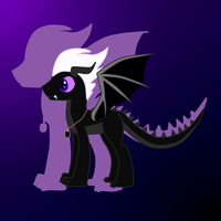 My Adopted Ender dragon by topaz7373