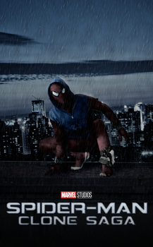Spiderman Clone Saga Movie Poster #1 by AngelbfxD
