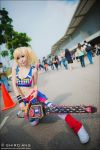 AFA 2012 - Lollipop Chainsaw 03 by shiroang