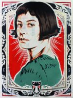 Portrait of Amelie Poulain by epyon5