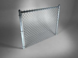 Chain-link Fence by Atzero
