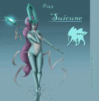 Suicune Concept by Wraeclast