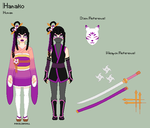 IY - Hanako Reference Sheet by porcelian-doll