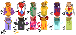 BOTTLE ADOPTS 2 - ALL GONE by Jellygay