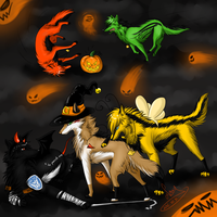 Halloween 2011 - TF by GreeNissy