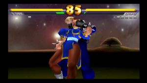 Street Fighter EX 3 Chun Li In trouble by Themilkguy