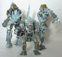 Bionicle MOC Group - The Army by Alex-Darkrai