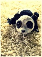 Baby Panda Plushie by Plushbox