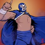 Blue Demon JR by spacetick