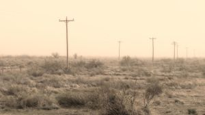 The Dust Storms Are Back Today by whendt