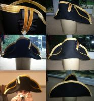 Post Captian hat 1800's by GeneralVyse