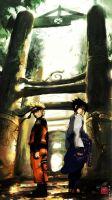 Naruto and Sasuke: Friendship? by haruningster