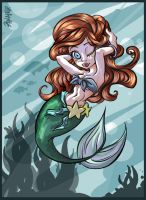 the little mermaid by lpspalmer