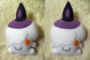 Litwick Pokemon Plush by P-isfor-Plushes