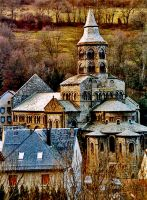 Church of Notre-Dame, Orcival by Nile-Paparazzi