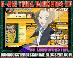 Ritsu Tainaka Theme Windows XP by Danrockster