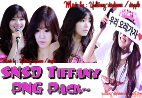 SNSD Tiffany PNG Pack by YulTaeng-daphneee