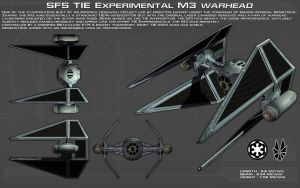 TIE Experimental M-3 Warhead ortho [New} by unusualsuspex