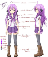 Eiza Reference Sheet by KanekoEiza