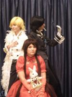 Pandora Hearts - Trio by MeiCosplay