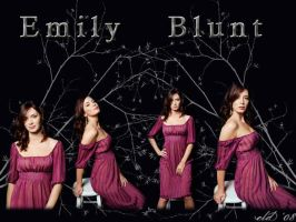 Emily Blunt by Missionpb