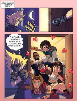 FFVII: The Date Scene by Risachantag