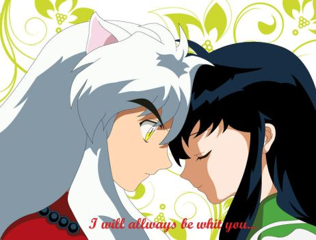 Inuyazha x Kagome by Roland-Slinger