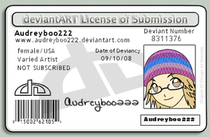 DA License for Audreyboo222 by Nashiil