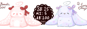 -Auction- pending Lovely Bunnies by ImaLittleAdopts