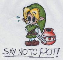 A Message From Link by MightyBiteySnake