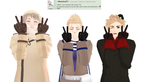 Ask-MMD-Netherlands: Question 151 by Ask-MMD-Netherlands