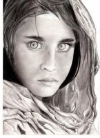 Sharbat Gula by WalkingInShadows