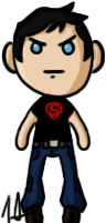 Young Justice - Superboy by shrimp-pops