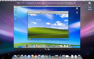 Transform WinXP to Mac OS X by Ausrif