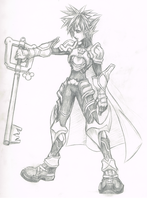 Armored Sora - 1 by d-AspiringAmeture-b