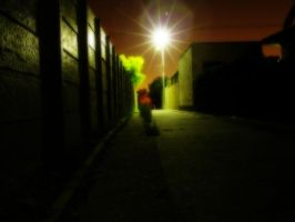 the alley by bleedalone