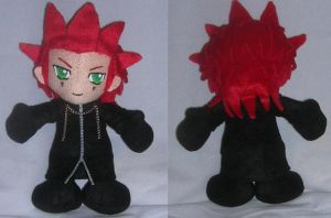 Axel Plushie v3.0 by WampusDragon